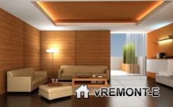 интерьер в гостиной модерн