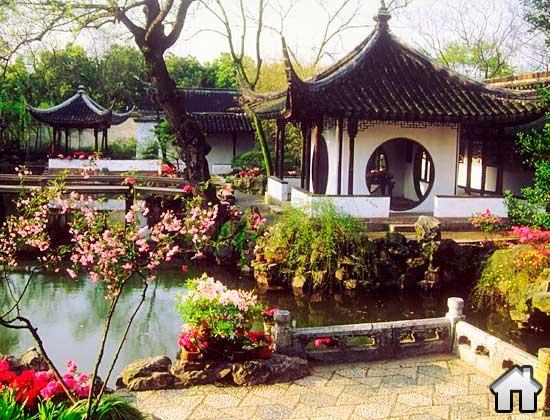 китайский стиль архитектуры