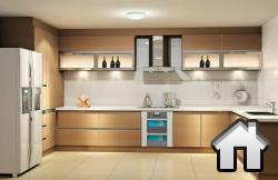 Керамогранитный пол для кухни