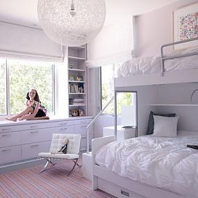 Романтическая комната для девочки