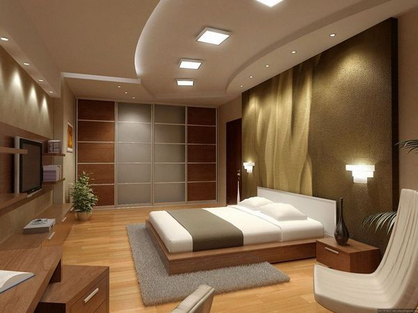 Спальне в стиле модерн