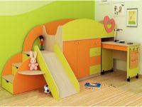 Детские кровати-чердаки с рабочей зоной: обзор модельного ряда с фото