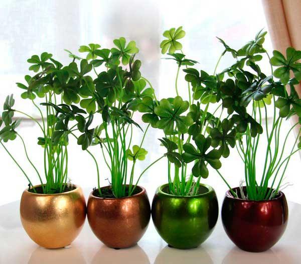 добавляем растения в дизайн комнаты