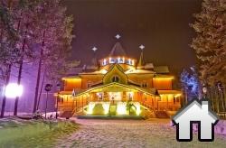 Все недвижимое имущество Деда Мороза было оценено в 74 миллионов рублей