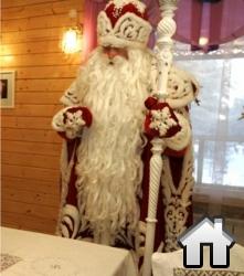 Дед Мороз в своем доме