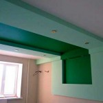 Потолок из гипсокартона: выравнивание и монтаж