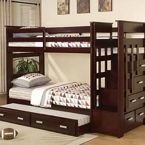 великолепная двухъярунсая кровать