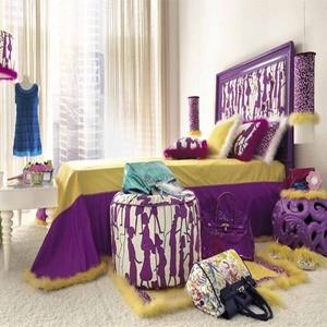 просторная кровать