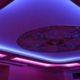 Подсветка потолка светодиодной лентой: дизайнерские игры со светом