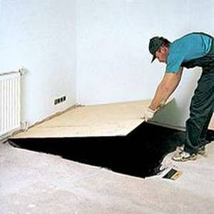 Покрытие паймером бетона