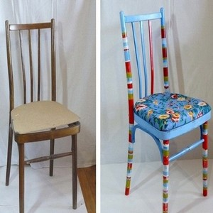 стул до и после ремонта
